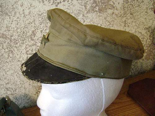 Old Japanese Cap w/Badge