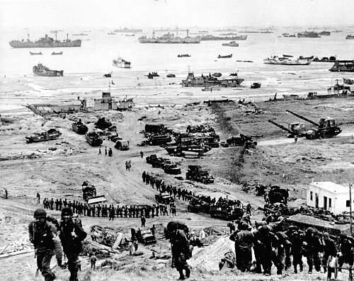 Machine gun belt from Normandy