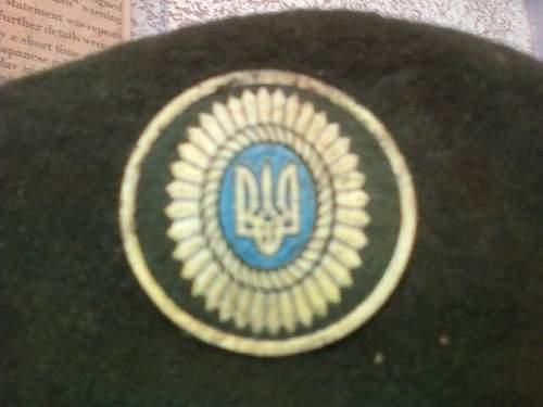 Ukrainian Air Force Beret
