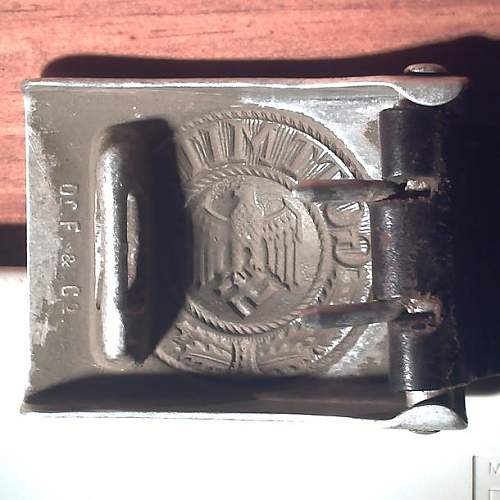 WH buckle and belt barn find