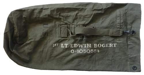 Grouping of Captain Edwin Bogert