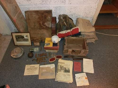 House/attic/woodshed/boathouse etc finds