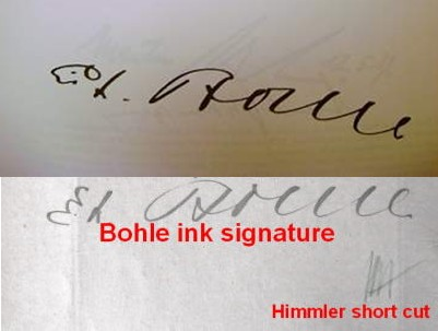 Book With Two Important Signatures