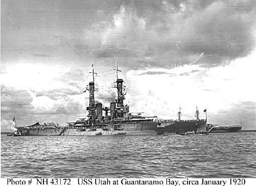 USS Utah Pictorial Log