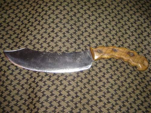 Unknown British knife