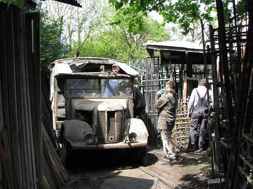 Barn find Austin K2/Y Ambulance 1944