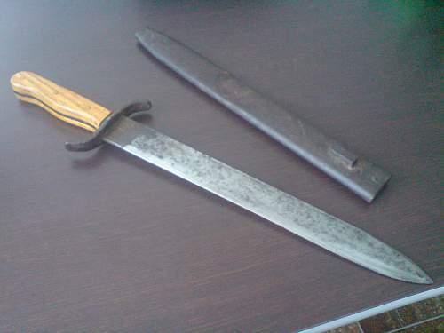 Sword? dagger?