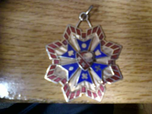 Need Help!  Identifying a medal found in grandfathers storage