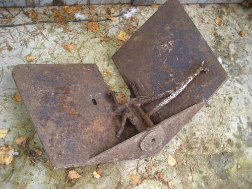 some attic finds from Kurland pocket