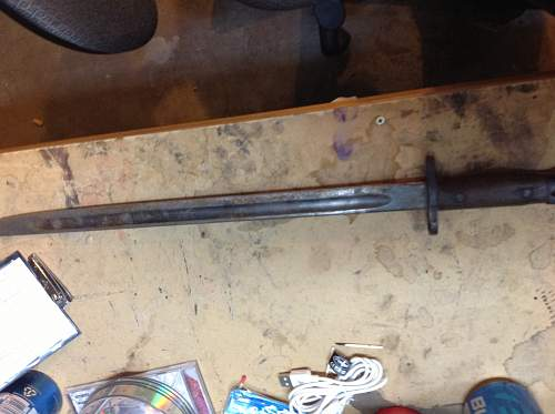 Hey guys a little help identifying this bayonet if you would