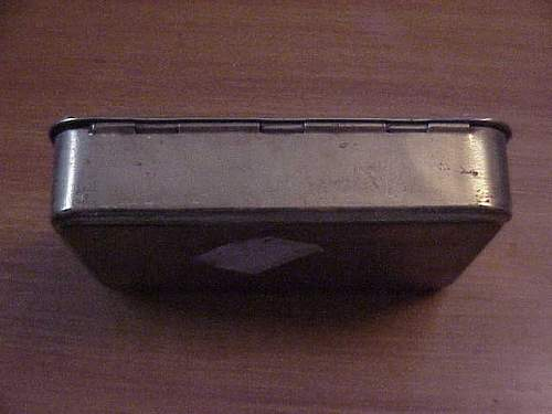 World War 1 Queen Mary's Gift brass box Christmas 1914