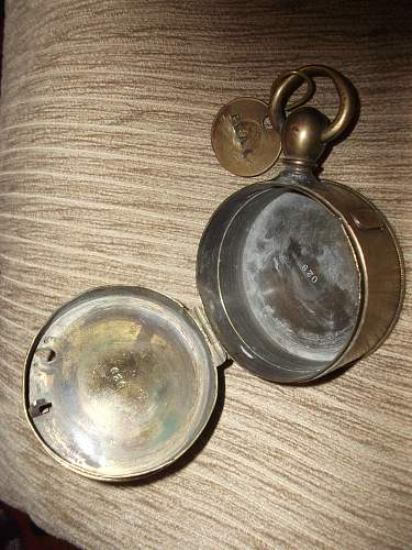 Unknown Brass Case with Markings.