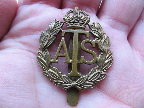 ATS badge from junk shop