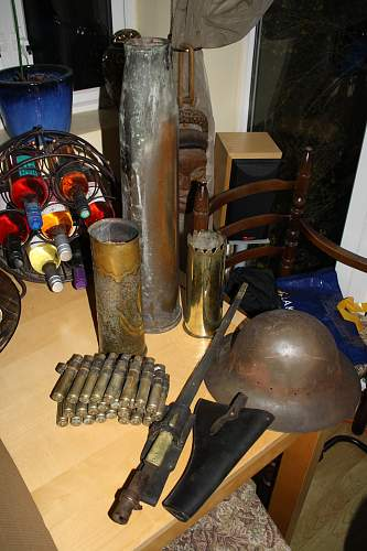 Nice mixed military lot from auction