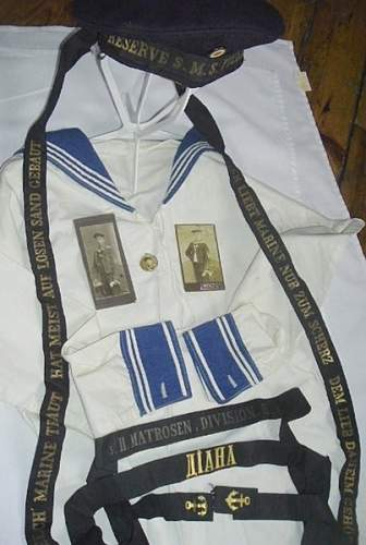 German and Russian Navy Items