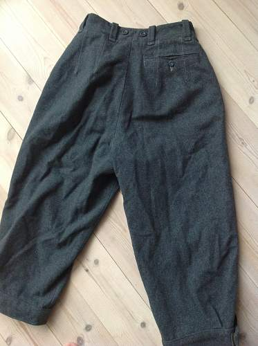 Unknown trousers