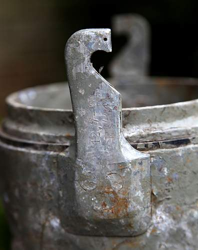 German transport canisters for Flak 88 and 12,7 cm SKC34 found in Norway!
