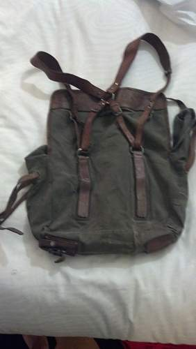 Can anyone help identify this bag?