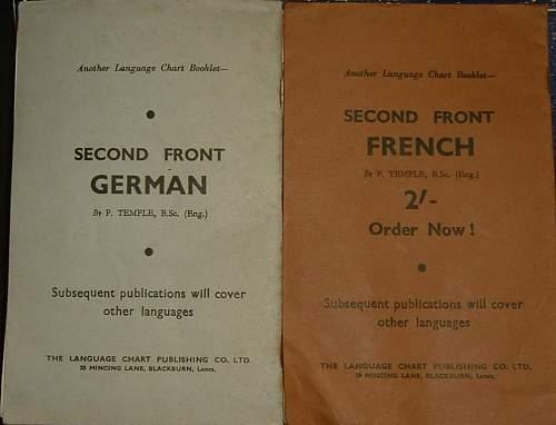 Language Chart Booklets