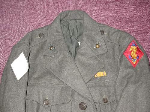 A couple U.S. jackets