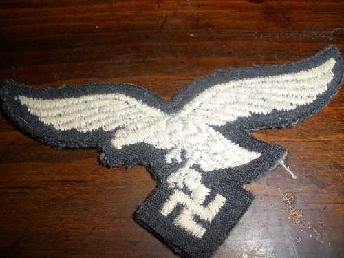 nazi armband and eagle