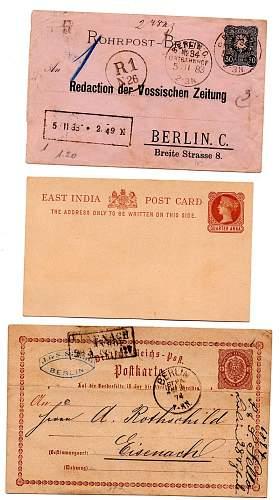 Flea market, Cards Gibraltar, Britan, Germany
