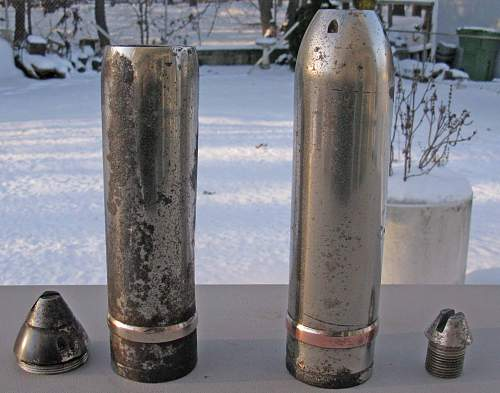 12 inch Shell Projectile Identification