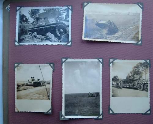 Fleamarket - HJ Knife & WW2 Photo Album