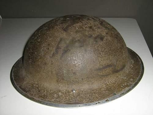 Canadian Mk II Helmet