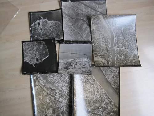 R.A.F. maps found in attic