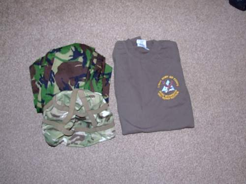 More combat gear from the local tip in warrington