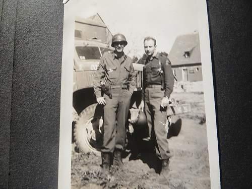 WWII US photo album pick up