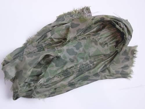 US Parachute silk panel used as a scarf..jpg