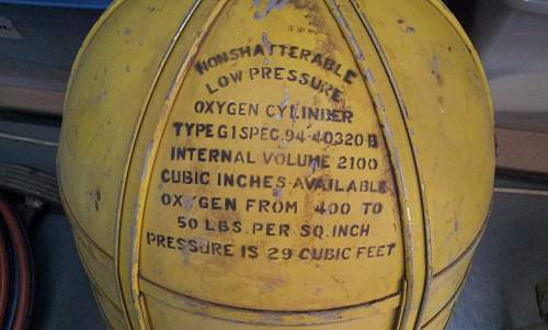 Oxygen bottle find ..... but from what?