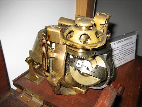1930S Torpedo gyro