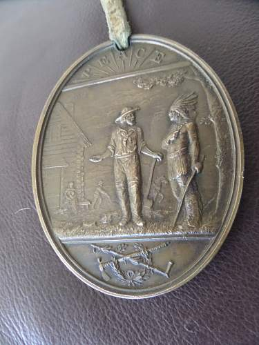 1881 Chester A. Arthur Indian Peace Medal fea market find