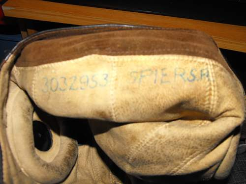 RAF flying helmet and mask found in army surplus shop!