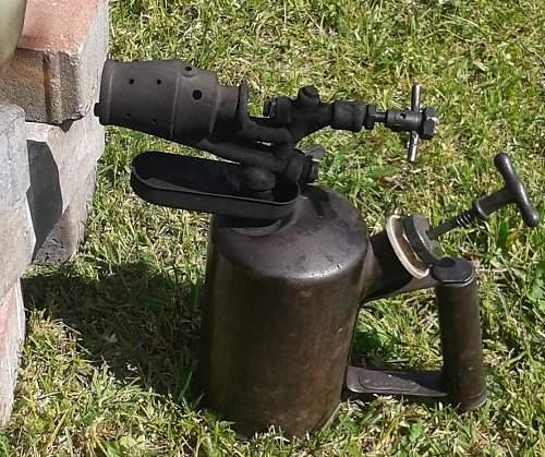 German wehrmacht torch lamp, lodlampe
