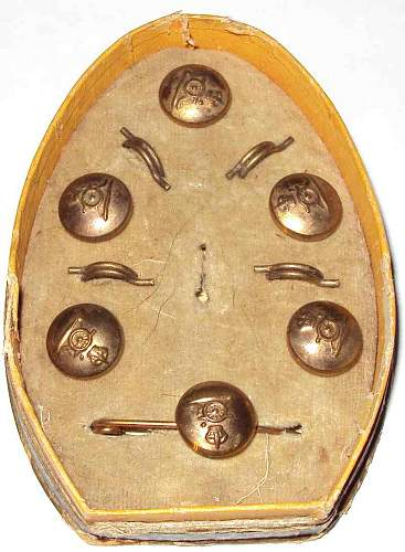 Royal Artillery Buttons