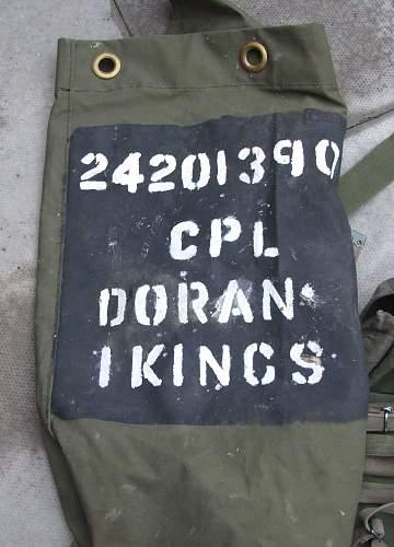 Possible Gulf War webbing find.