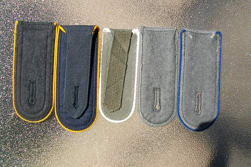 Need information on these shoulder boards please