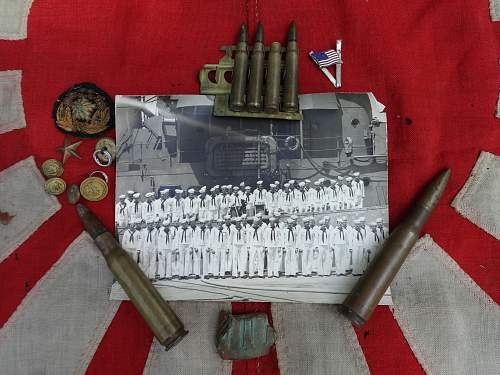 A USN grouping with Japanese items