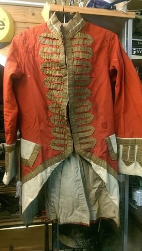 Georgian & Victorian uniform car boot find