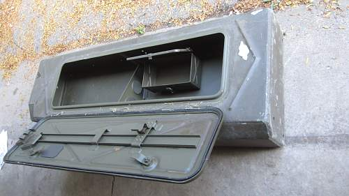 WWII Deuce and a Half Storage Box??? Need Help With I.D. Please