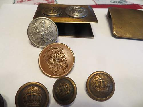 WWI items from my cousin