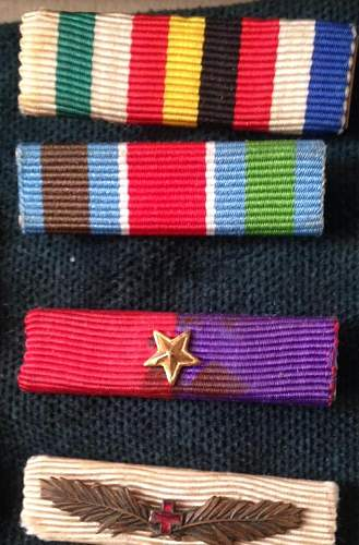 I started to collect ribbons, can you help me identify them