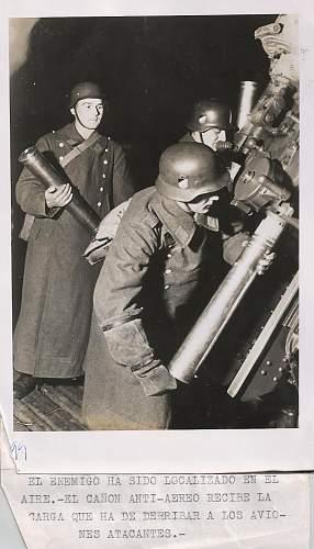 Wooden anti aircraft gun