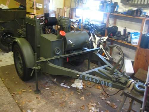 My 1944 British Airborne trailer