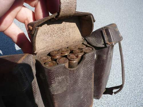 """""""barn find"""": 98k patronentasche"""