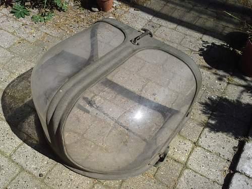 Strange plexiglass cover